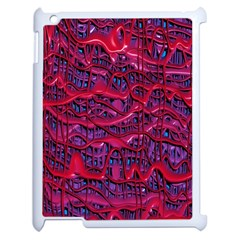 Plastic Mattress Background Apple Ipad 2 Case (white) by Nexatart
