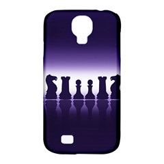 Chess Pieces Samsung Galaxy S4 Classic Hardshell Case (pc+silicone) by Valentinaart