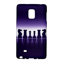 Chess Pieces Galaxy Note Edge by Valentinaart