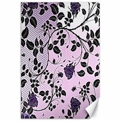 Floral Pattern Background Canvas 20  X 30   by Nexatart