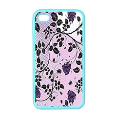 Floral Pattern Background Apple Iphone 4 Case (color)