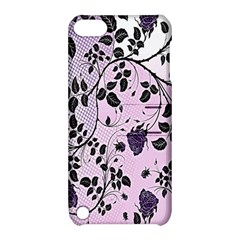 Floral Pattern Background Apple Ipod Touch 5 Hardshell Case With Stand by Nexatart