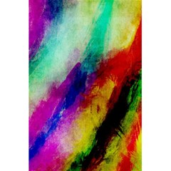 Colorful Abstract Paint Splats Background 5 5  X 8 5  Notebooks by Nexatart