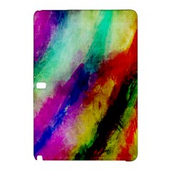 Colorful Abstract Paint Splats Background Samsung Galaxy Tab Pro 10 1 Hardshell Case