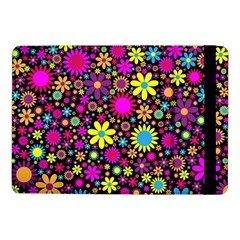 Bright And Busy Floral Wallpaper Background Samsung Galaxy Tab Pro 10 1  Flip Case by Nexatart