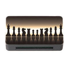 Chess Pieces Memory Card Reader With Cf by Valentinaart
