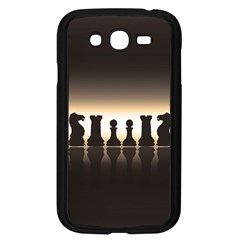 Chess Pieces Samsung Galaxy Grand Duos I9082 Case (black) by Valentinaart