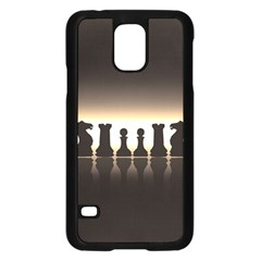 Chess Pieces Samsung Galaxy S5 Case (black)