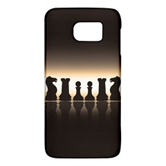 Chess Pieces Galaxy S6 by Valentinaart