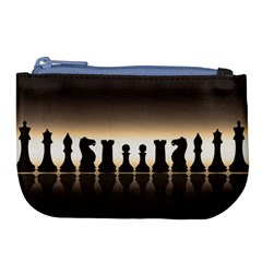 Chess Pieces Large Coin Purse