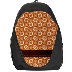 Floral Seamless Pattern Vector Backpack Bag by Nexatart