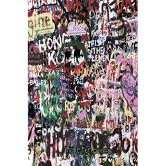 Graffiti Wall Pattern Background 5 5  X 8 5  Notebooks by Nexatart