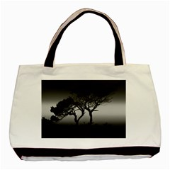 Sunset Basic Tote Bag (two Sides) by Valentinaart