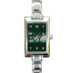 Sunset Rectangle Italian Charm Watch