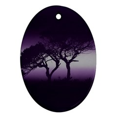 Sunset Ornament (oval)