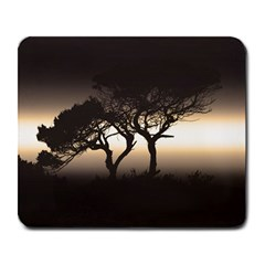 Sunset Large Mousepads by Valentinaart