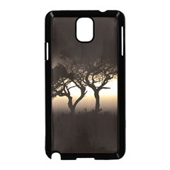 Sunset Samsung Galaxy Note 3 Neo Hardshell Case (black)