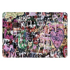 Graffiti Wall Pattern Background Samsung Galaxy Tab 8 9  P7300 Flip Case by Nexatart