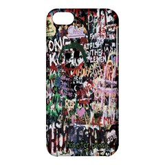 Graffiti Wall Pattern Background Apple Iphone 5c Hardshell Case by Nexatart