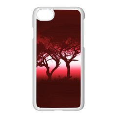 Sunset Apple Iphone 7 Seamless Case (white)