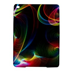 Abstract Rainbow Twirls Ipad Air 2 Hardshell Cases by Nexatart
