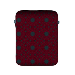 Blue Hot Pink Pattern With Woody Circles Apple Ipad 2/3/4 Protective Soft Cases by Nexatart