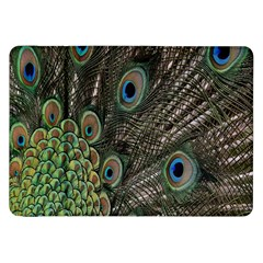 Close Up Of Peacock Feathers Samsung Galaxy Tab 8 9  P7300 Flip Case