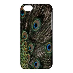 Close Up Of Peacock Feathers Apple Iphone 5c Hardshell Case by Nexatart