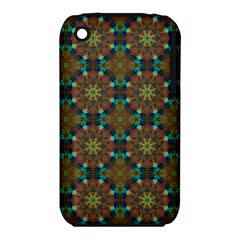 Seamless Abstract Peacock Feathers Abstract Pattern Iphone 3s/3gs by Nexatart