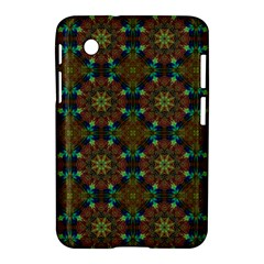 Seamless Abstract Peacock Feathers Abstract Pattern Samsung Galaxy Tab 2 (7 ) P3100 Hardshell Case