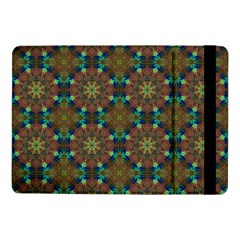 Seamless Abstract Peacock Feathers Abstract Pattern Samsung Galaxy Tab Pro 10 1  Flip Case