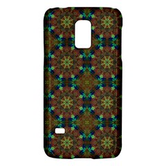 Seamless Abstract Peacock Feathers Abstract Pattern Galaxy S5 Mini by Nexatart