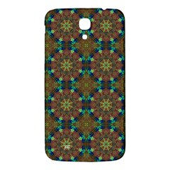 Seamless Abstract Peacock Feathers Abstract Pattern Samsung Galaxy Mega I9200 Hardshell Back Case by Nexatart