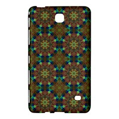 Seamless Abstract Peacock Feathers Abstract Pattern Samsung Galaxy Tab 4 (8 ) Hardshell Case  by Nexatart