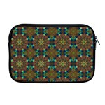 Seamless Abstract Peacock Feathers Abstract Pattern Apple MacBook Pro 17  Zipper Case Front