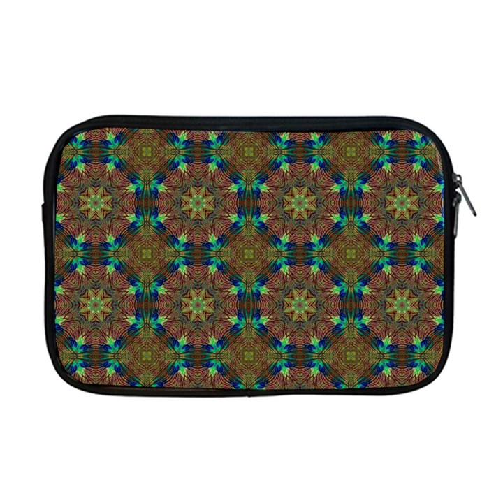 Seamless Abstract Peacock Feathers Abstract Pattern Apple MacBook Pro 17  Zipper Case