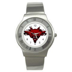 Dracula Stainless Steel Watch by Valentinaart