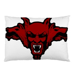 Dracula Pillow Case (two Sides) by Valentinaart