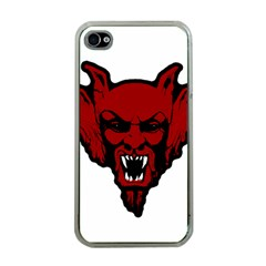 Dracula Apple Iphone 4 Case (clear) by Valentinaart