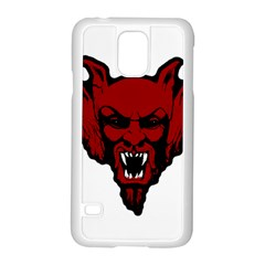 Dracula Samsung Galaxy S5 Case (white) by Valentinaart