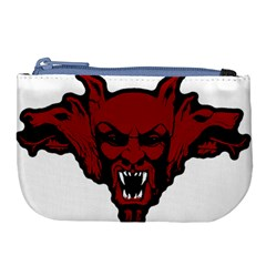 Dracula Large Coin Purse by Valentinaart