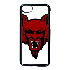 Dracula Apple Iphone 7 Seamless Case (black) by Valentinaart