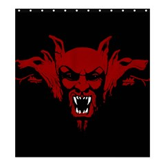 Dracula Shower Curtain 66  X 72  (large)  by Valentinaart