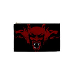 Dracula Cosmetic Bag (small)  by Valentinaart