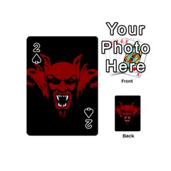 Dracula Playing Cards 54 (mini)  by Valentinaart