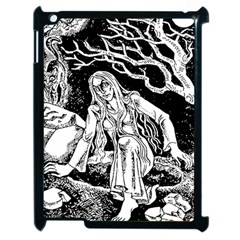Vampire  Apple Ipad 2 Case (black) by Valentinaart