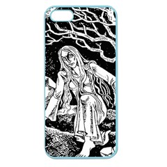 Vampire  Apple Seamless Iphone 5 Case (color) by Valentinaart