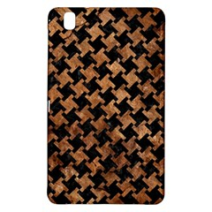 Houndstooth2 Black Marble & Brown Stone Samsung Galaxy Tab Pro 8 4 Hardshell Case by trendistuff
