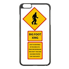 Bigfoot Apple Iphone 6 Plus/6s Plus Black Enamel Case