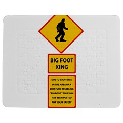 Bigfoot Jigsaw Puzzle Photo Stand (rectangular) by Valentinaart